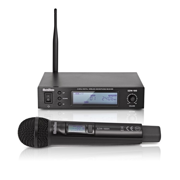 SubZero SZW-100H 2.4GHz Digital Wireless Handheld Microphone System