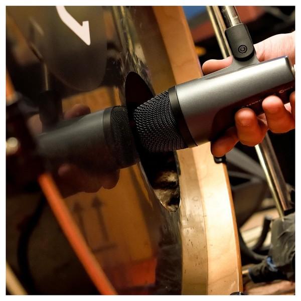 Sennheiser e602 II Dynamic Instrument Microphone, Bass Drum Shot 1