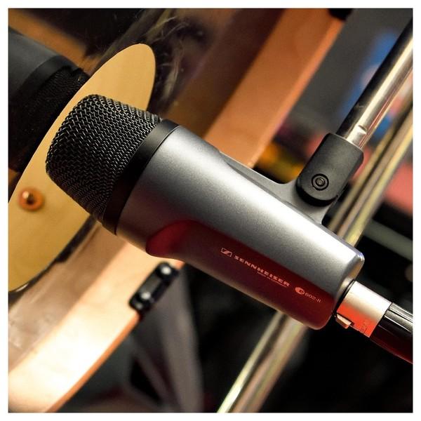 Sennheiser e602 II Dynamic Instrument Microphone, Bass Drum Shot 2