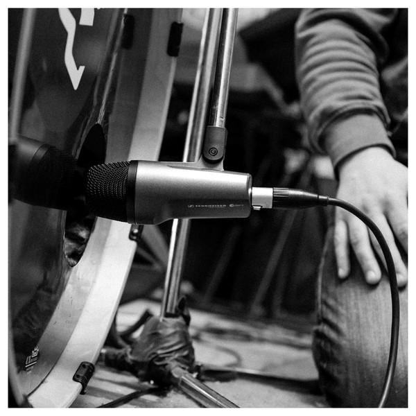 Sennheiser e602 II Dynamic Instrument Microphone, Bass Drum Shot 3