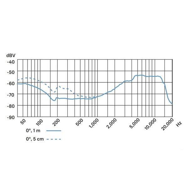 Sennheiser e602 II Dynamic Instrument Microphone, Frequency Response