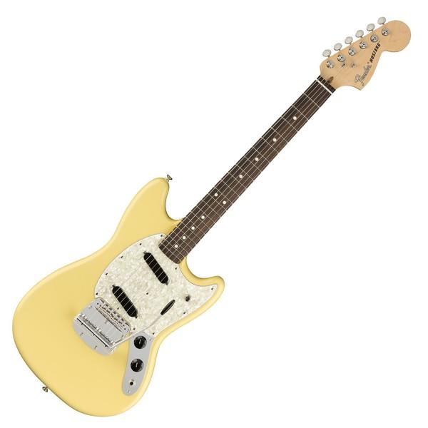 Fender American Performer Mustang, Vintage White - Main