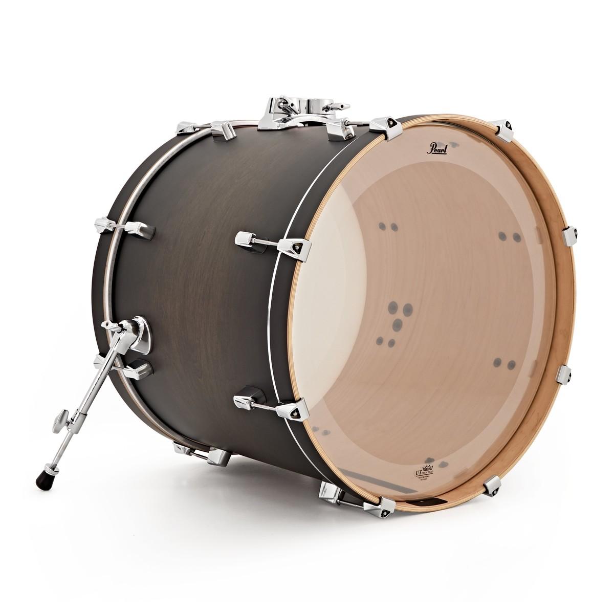 pearl decade maple 22 x 18 39 39 bass drum satin black burst at gear4music. Black Bedroom Furniture Sets. Home Design Ideas