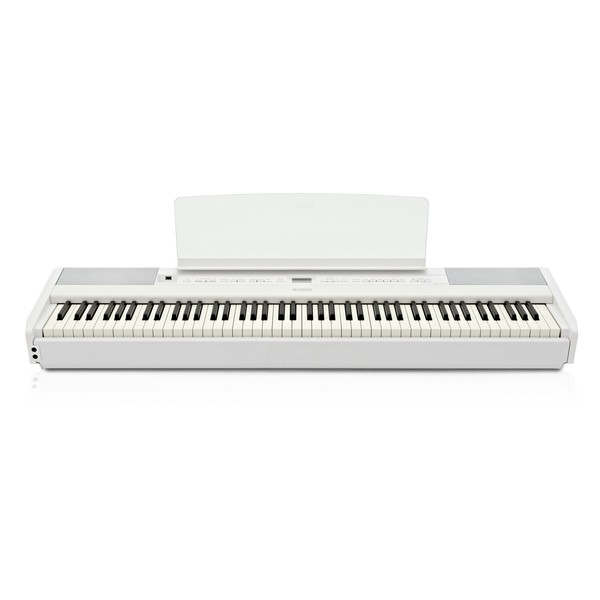 Yamaha P515 Digital Piano, White front