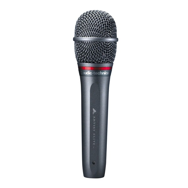 Audio Technica Artist Elite AE6100 Hypercardioid Dynamic Microphone, Front Straight View