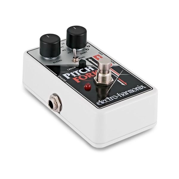 Electro Harmonix Pitch Fork Polyphonic Synthesizer-Generator  angle