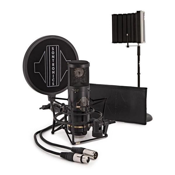 Sontronics STC-3X Vocal Recording Pack, Black