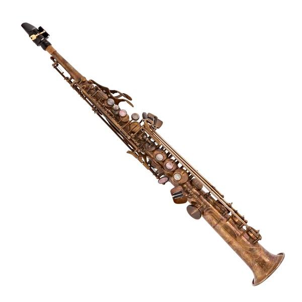 Conn-Selmer PSS380V Premiere Soprano Saxophone, Vintage Finish main