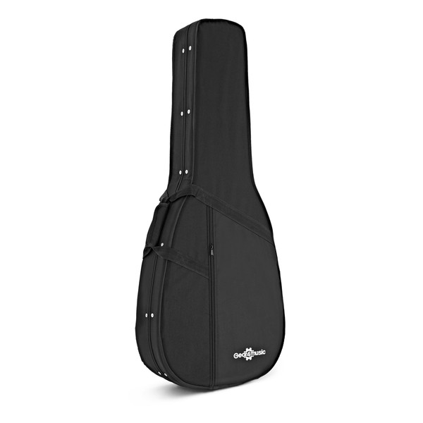 Acoustic Guitar Foam Case by Gear4music angle