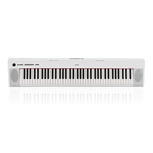 Yamaha Piaggero NP32 Portable Digital Piano, White main