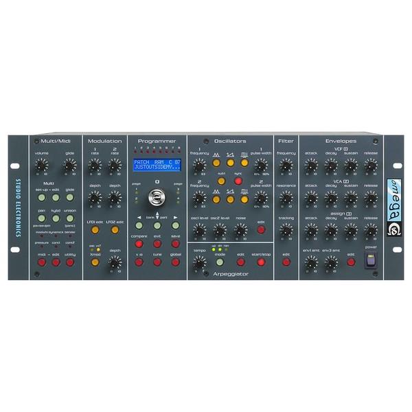Studio Electronics Omega 8v Polysynth, 8 Voice Front