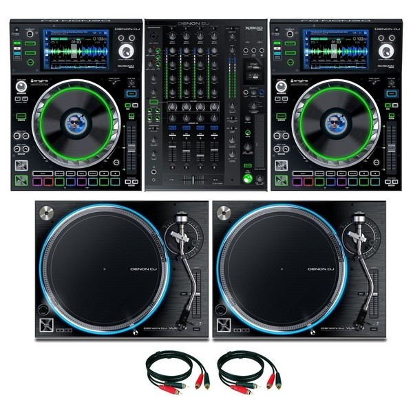 Denon DJ Prime Series Complete Bundle - Full Bundle