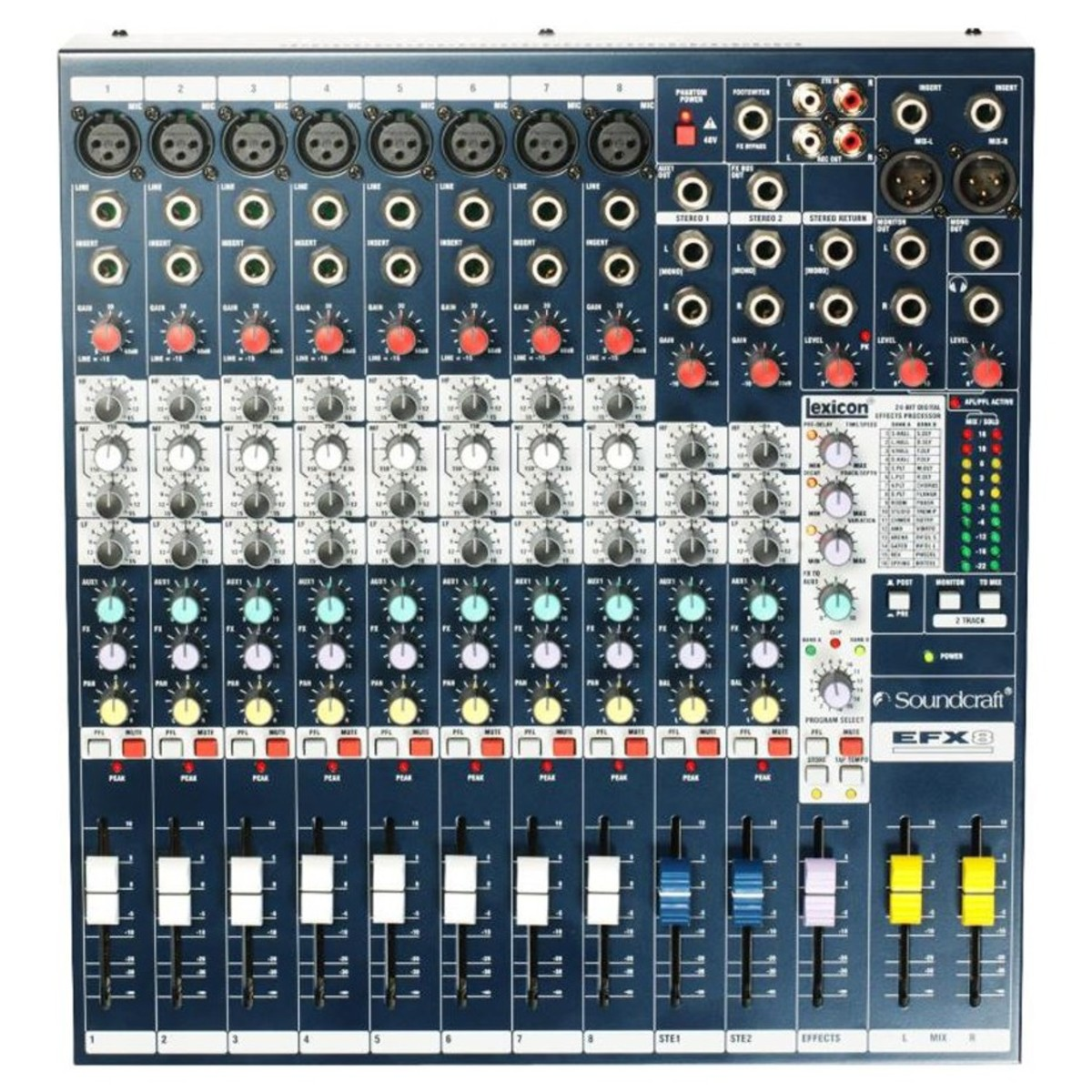 Click to view product details and reviews for Soundcraft Efx8 Mixer With Lexicon Fx.