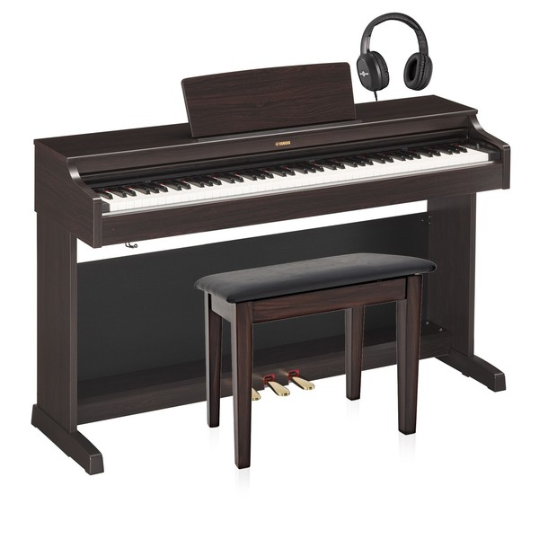 Yamaha YDP 163 Digital Piano Package, Rosewood