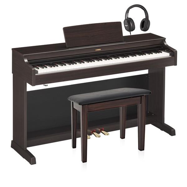 Yamaha YDP 163 Digital Piano Package, Rosewood
