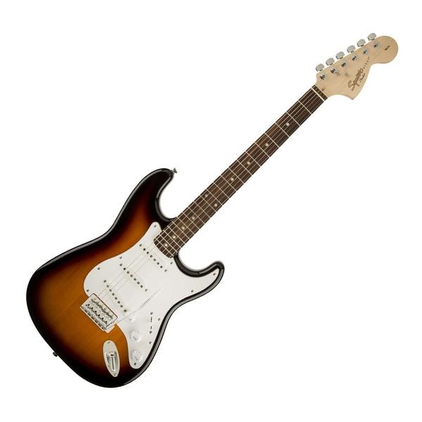 Brown Sunburst NEW Squier Affinity Stratocaster Strat Electric Guitar