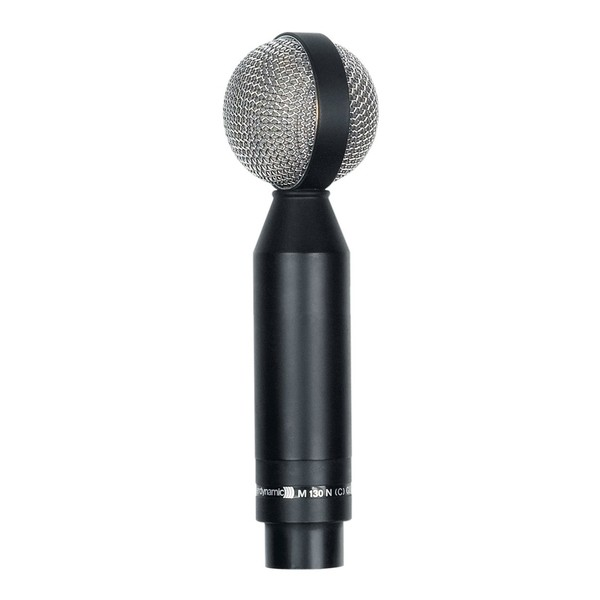 beyerdynamic M-130 Double Ribbon Microphone, Front Upright Angled