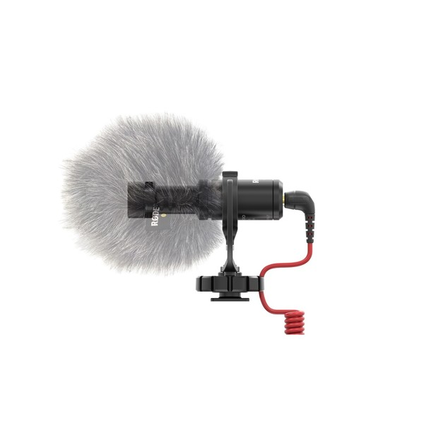 Rode VideoMicro Compact On-Camera Microphone - Windshield