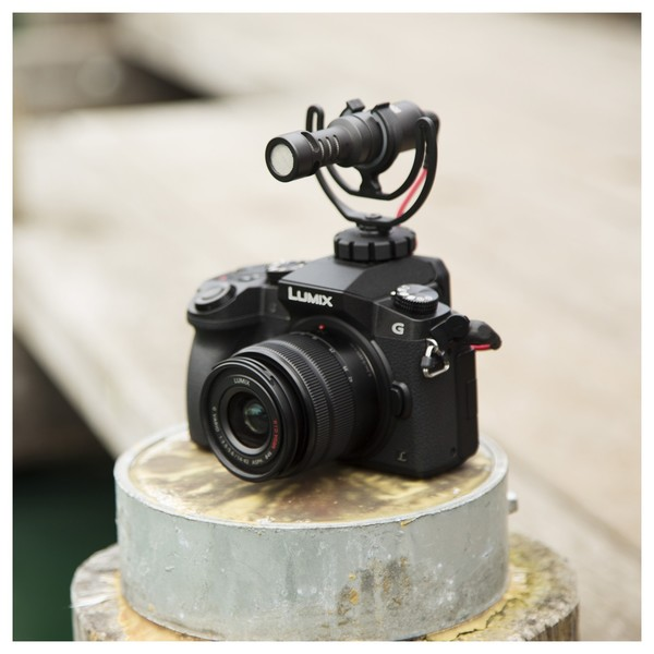 Rode VideoMicro Compact On-Camera Microphone - Lifestyle