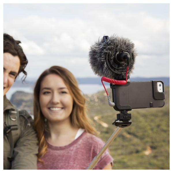 Rode VideoMicro Compact On-Camera Microphone - Lifestyle 2