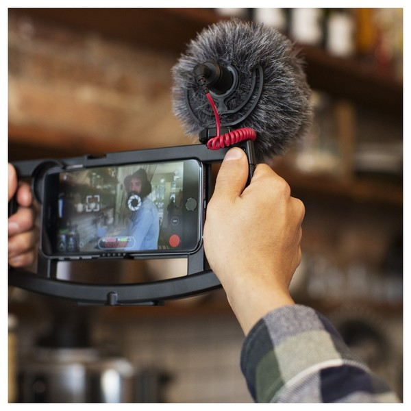 Rode VideoMicro Compact On-Camera Microphone - Lifestyle 3