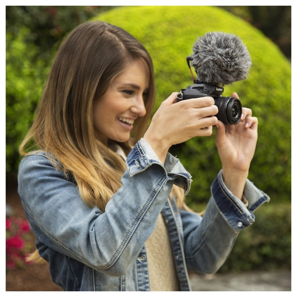 Rode VideoMicro Compact On-Camera Microphone - Lifestyle 4