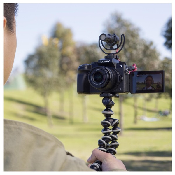 Rode VideoMicro Compact On-Camera Microphone - Lifestyle vlogging