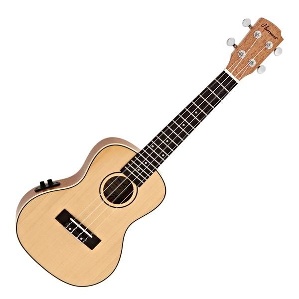 Hartwood Renaissance Electro Acoustic Concert Ukulele, Natural main