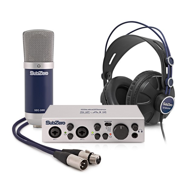 SubZero BASE-2 Home Recording Bundle