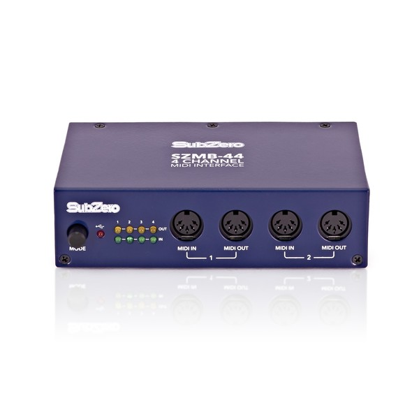 SubZero SZ-MB44 4 Channel Midi Interface