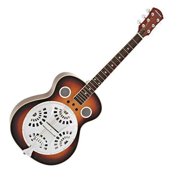 Resonator Guitar by Gear4music, Sunburst main