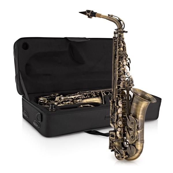 Alto Saxophone by Gear4music, Vintage