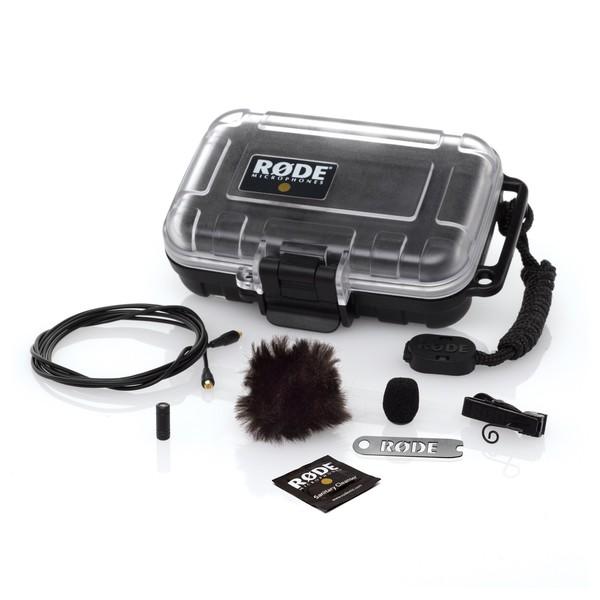 Rode Lavalier Microphone Omni Directional Lapel Mic - Full Kit