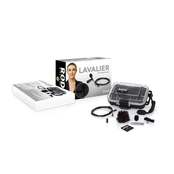 Rode Lavalier Microphone Omni Directional Lapel Mic - Packaging