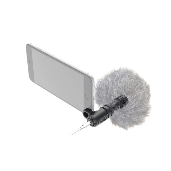 Rode VideoMic Me Microphone for iPhone and iPad - Windshield