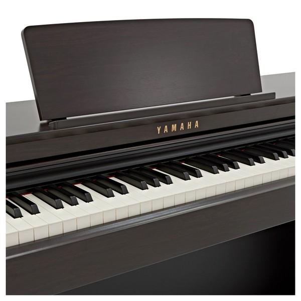 Yamaha CLP 625 Digital Piano, Rosewood close