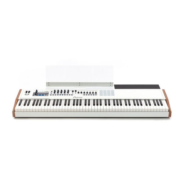 Arturia KeyLab 88 Hammer Action Hybrid MIDI Controller - Front