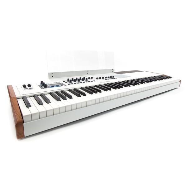 Arturia KeyLab 88 Hammer Action Hybrid MIDI Controller - Side View 1