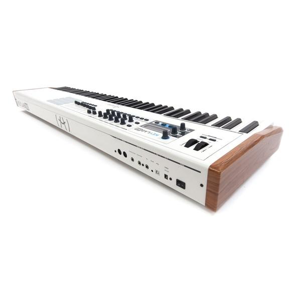 Arturia KeyLab 88 Hammer Action Hybrid MIDI Controller - Side View 2