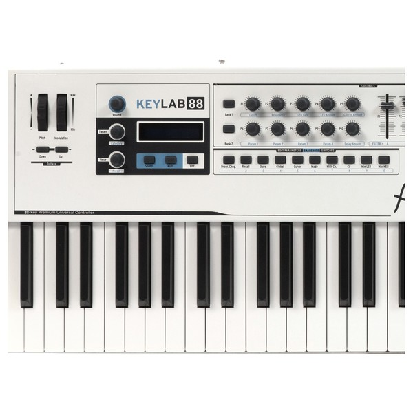 Arturia KeyLab 88 Hammer Action Hybrid MIDI Controller - Controls 1