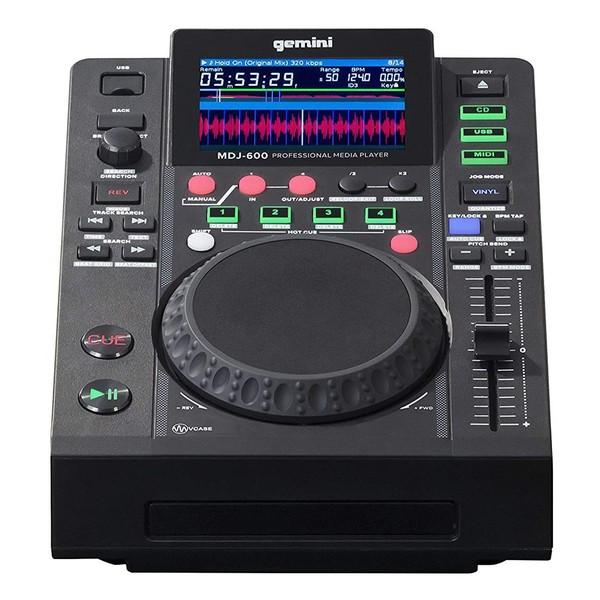Gemini MDJ-600 Professional CD & USB Media Player - Main