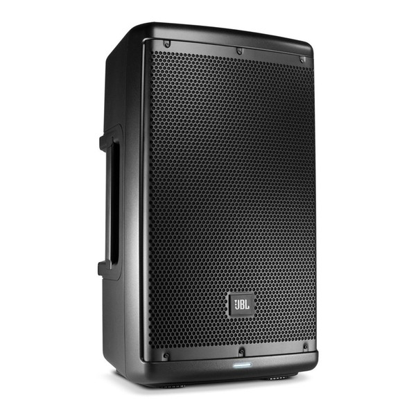 JBL EON610 10'' Active PA Speaker with Bluetooth, Front Angled