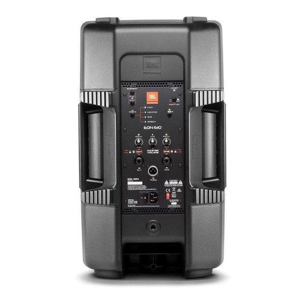 JBL EON610 10'' Active PA Speaker with Bluetooth, Rear Panel