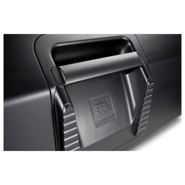JBL EON610 10'' Active PA Speaker with Bluetooth, Handle Close-Up