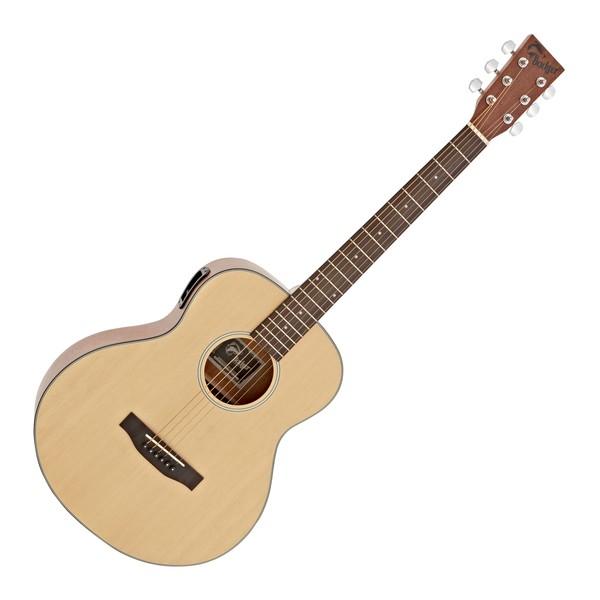 Badger Cub Electro Acoustic Guitar, Natural main