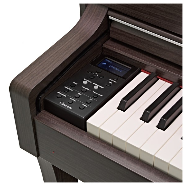 Yamaha CLP 635 Digital Piano, Dark Walnut