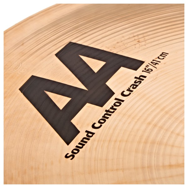 Sabian AA 16'' Sound Control Crash Cymbal, Brilliant close