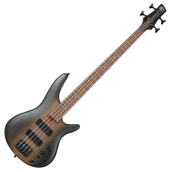 Ibanez SR500E Bass, Surreal Black Dual Fade