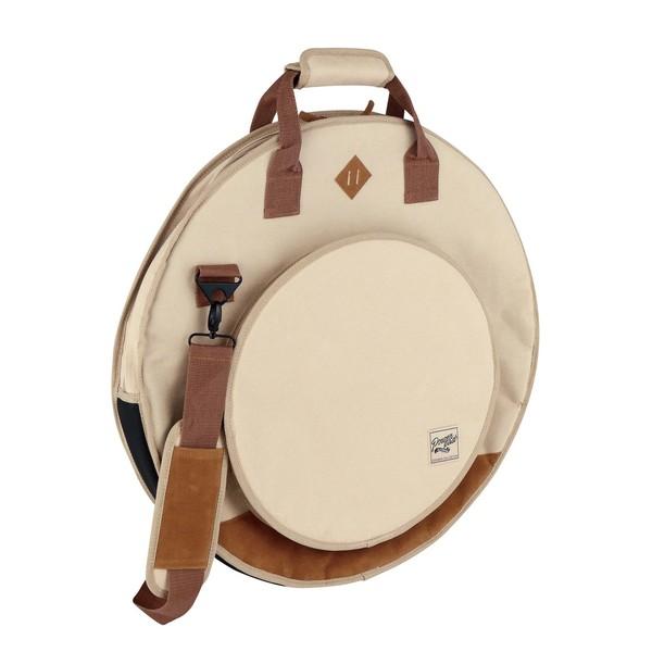 """Tama PowerPad Vintage Cymbal Bag 22"""" (Beige) - Main Image"""
