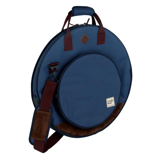 "Tama PowerPad Vintage Cymbal Bag 22"" (Navy Blue) - Main Image"